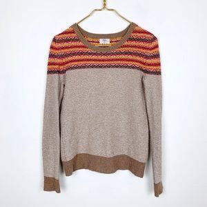 Madewell Wallace Fair Aisle Knit Sweater